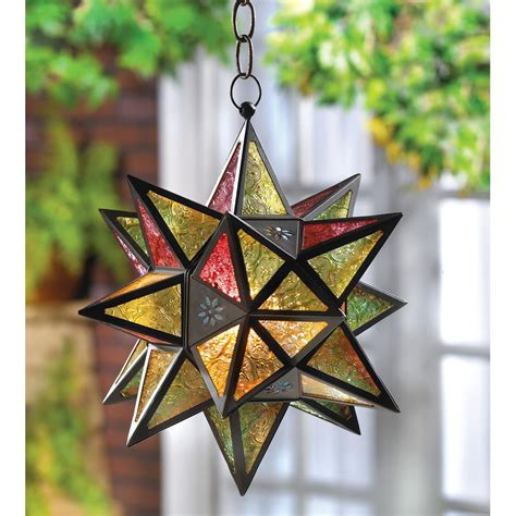 moroccan star lantern wholesale  koehler home decor
