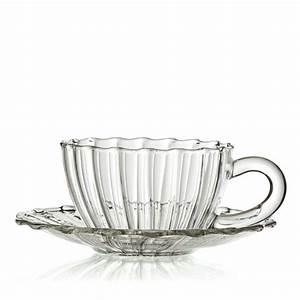 Tasse En Verre : jaipur tasse sous tasse en verre cannel ~ Teatrodelosmanantiales.com Idées de Décoration