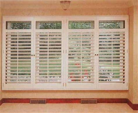 window treatments window and shutters on