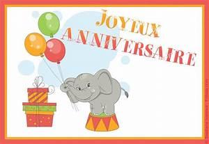Carte Anniversaire Pour Enfant : cartes virtuelles anniversaire enfant joliecarte ~ Melissatoandfro.com Idées de Décoration