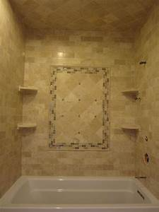 travertine subway tiles and 6x6 with sonoma tile accent With designing subway tile shower installation