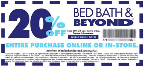 Bed Bath And Beyond 20 Percent Coupon by Bed Bath And Beyond 20 Coupon Home Ideas In 2019