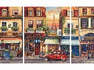 Peinture De Paris Poissy : schipper peinture aux numeros paris nostalgie cadre ~ Premium-room.com Idées de Décoration