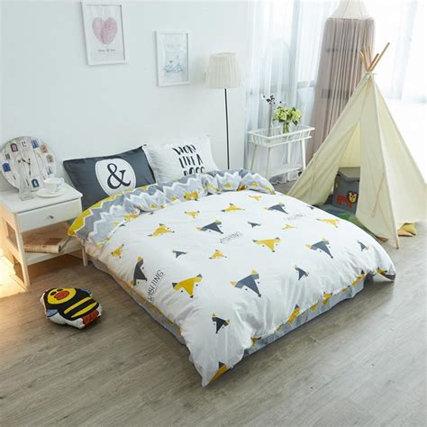 fox comforter set fox bed sheets promotion shop for promotional fox bed