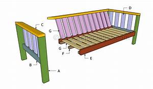 outdoor sofa plans howtospecialist how to build step With outdoor sectional sofa building plans