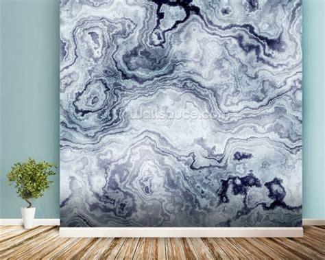 blue swirl marble wall mural wallpaper wall mural wallsauce