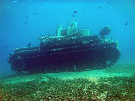 Boat Landing Lake Dubay by Seven Amazing Coral Reefs Made From Sunken Vehicles