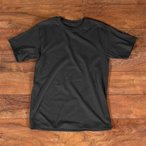 Black Tshirt Template T Shirt Black Mockup Template For Free On Pngtree