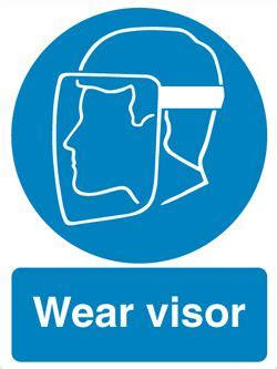 Ma083  Wear Visor Sign. Drawing Signs. Child Care Banners. Postpartum Psychosis Signs. Prashant Logo. Mental Breakdown Signs. Arms Signs Of Stroke. Honesty Signs Of Stroke. Death Stickers