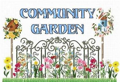 Garden Community Clipart Words Clip Cliparts Library
