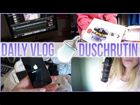 Daily Vlog ♡ Min Duschrutin & Massa Paket! Youtube