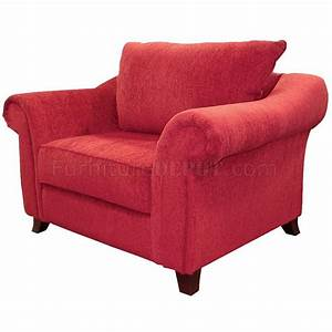 contemporary livng room chenille fabric new emperor u452 red With red chenille sectional sofa