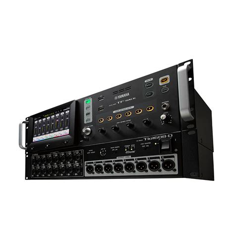 rack mount mixer yamaha tf rack 16 channel compact rack mount digital