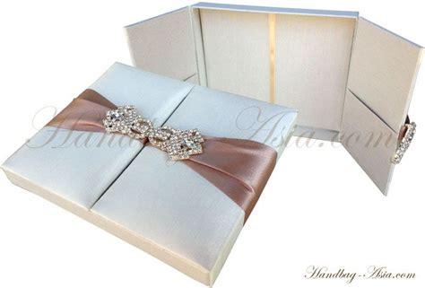 luxury ivory wedding invitation box  cards wedding