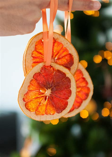 citrus smelling christmas tree how to make stained glass dried citrus slice ornaments laughed