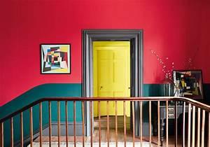 peindre son couloir en couleur lastuce deco parfaite With peindre un encadrement de porte