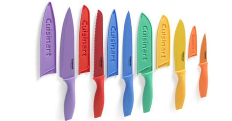 cuisinart colored knife set jcpenney black friday deal cuisinart advantage 12 pc