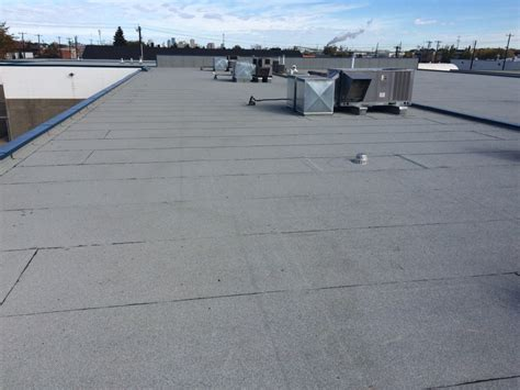 Commercial Flat Roofing System Installation