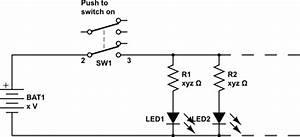 Switches - Push Button Switch Plus 10 Led U0026 39 S