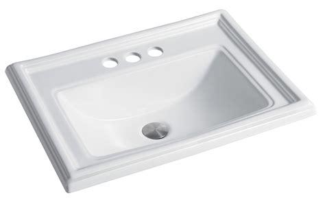 sink in kitchen as2264 22 75 quot x 18 5 quot x 7 75 quot topmount lavatory porcelain 6930