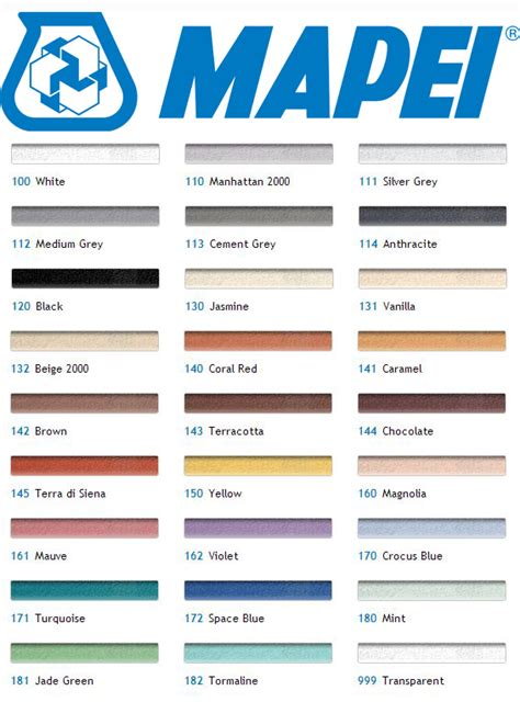 Unsanded Tile Grout Home Depot by Mapei Grout Color Chart Pdf