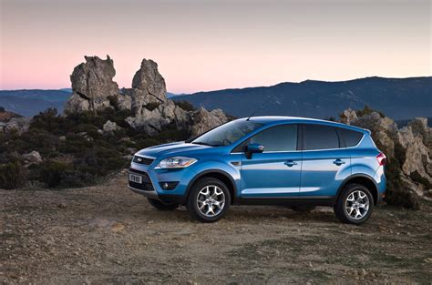 Geneva 2008 Preview 2009 Ford Kuga Crossover Unveiled