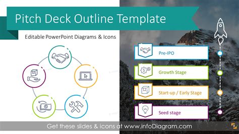 elegant investment pitch deck   template