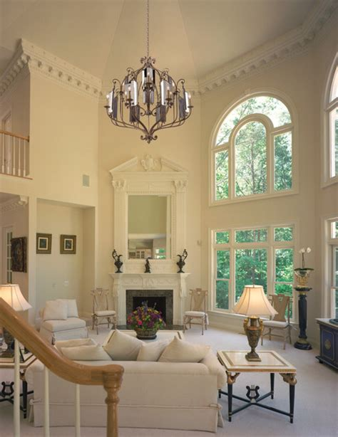 Houzz Living Room Lighting by Corbett Lighting Traditional Living Room Miami By