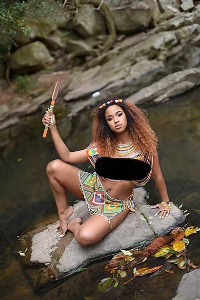 South Africa African Lady Zulu Culture Ladies
