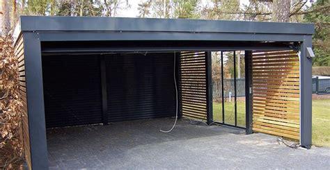 Carport Aus Holz Und Metall Denvirdevinfo