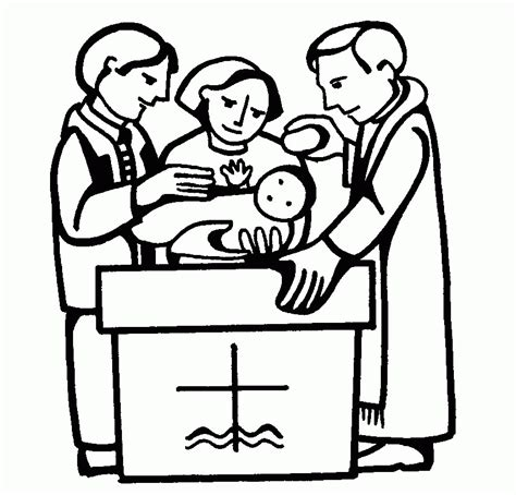 baptism coloring pages baptism coloring pages coloring home