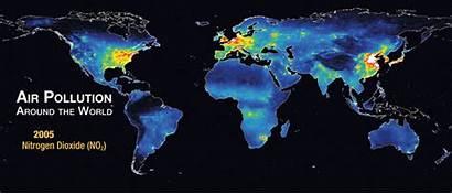 Nasa Aura Pollution Air Around Animated Environmental