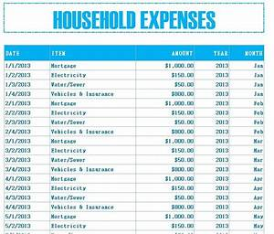list of household expenses template 28 images tips for With list of household expenses template
