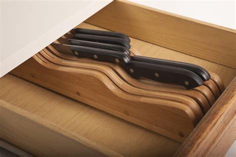 kitchen knife storage drawer wusthof 14 slot in drawer knife storage tray 5290