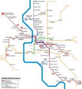 Dusseldorf Subway Map