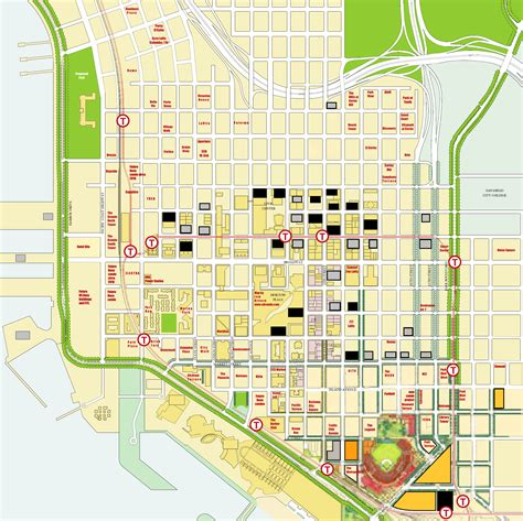 offenders san diego map san diego downtown community locations
