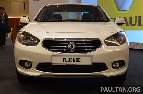 renault malaysia renault fluence 2 0 unveiled in malaysia rm115k