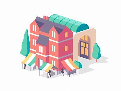 Hague Behance Project Max Animations
