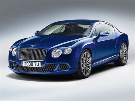 Bentley Car : Gambar Mobil Bentley Continental Gt Speed 2013