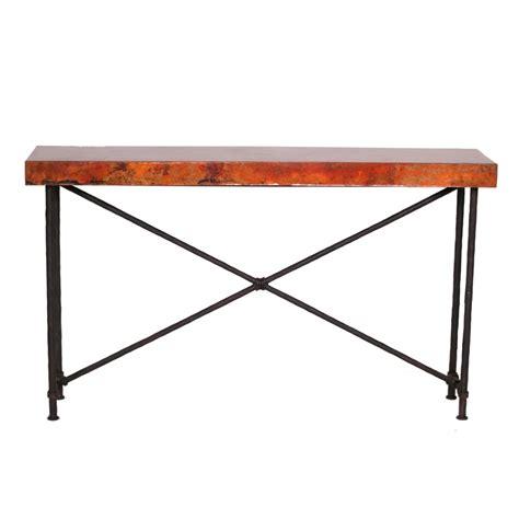 wrought iron sofa table contemporary wrought iron burlington console table 60in