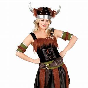 """Costume """"Femme viking"""" Deluxe 5 pcs à prix minis sur ..."""