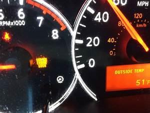 Nissan Altima Dashboard Symbols