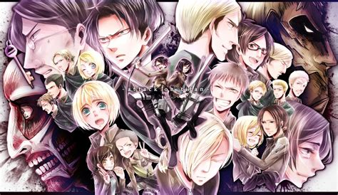 Cool Attack On Titan Wallpaper Cool Attack On Titan Wallpapers Wallpapersafari