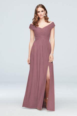 dusty rose bridesmaid dresses  light dark dusty pink
