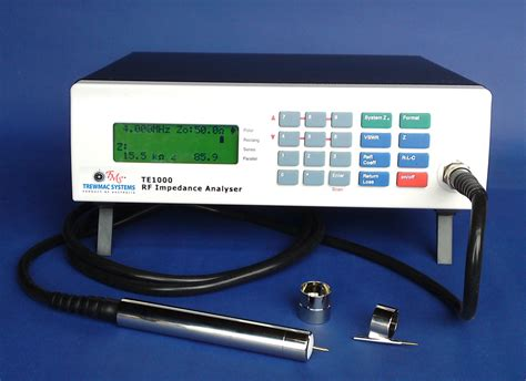 the range microwave measurements te3000 lf vhf impedance antenna vector analyzer
