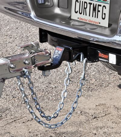 trailer towing safety safety chains cables safety hooks