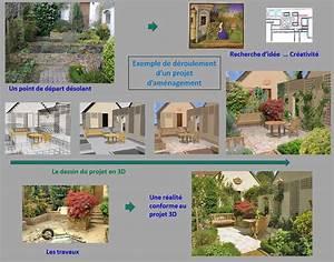 cuisine cool amenagement 3d amenagement 3d jardin With conception de maison 3d 11 jardin moderne mon jardin en ligne
