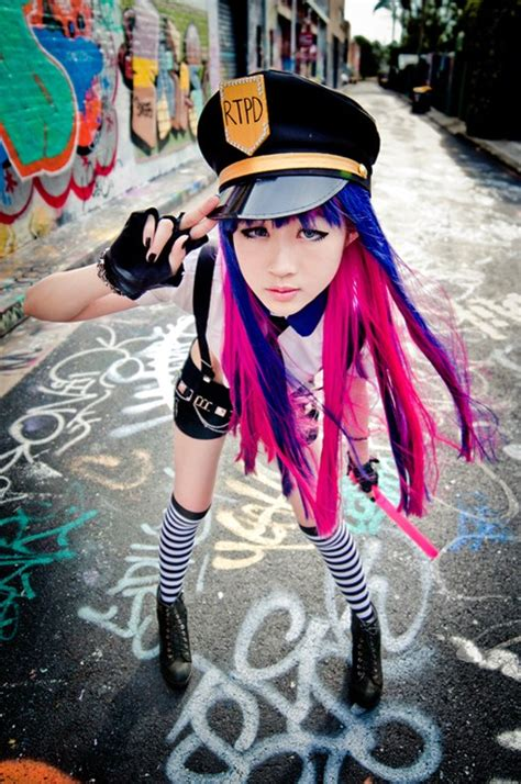 Panty and Stocking Cop Cosplay