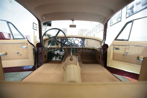 Jaguar Xk150 Fhc Biscuit Interior