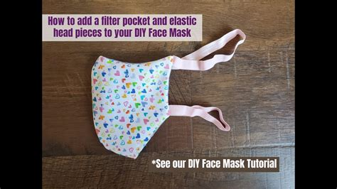 add filter pocket  soft head elastic